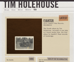Screen Shot of TimHolehouse.com