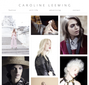 Screenshot of Caroline Leeming.com